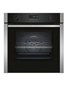 Neff B6ACH7HN0B N50 Slide + Hide Single Pyrolytic Oven With Circotherm