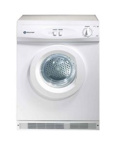 Whiteknight C45CW 7Kg Vented Tumble Dryer, C Rated, Reverse Action, 2 Heat Settings, 140 Minute Time