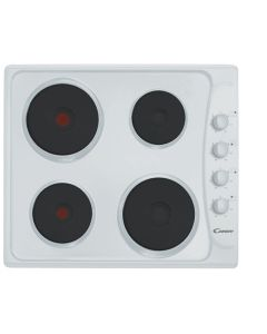 Candy PLE64W 60Cm Solid Plate Hob