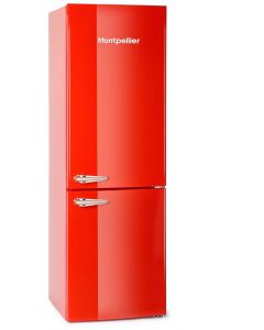 Montpellier MAB365R Retro Fridge Freezer