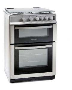 Montpellier MDG600LS 60Cm Gas Double Oven Cooker With Lid