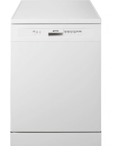 Washing Machine Dishwasher Dryer Sales ChorleyWood Loudwater Appliance Repairs Rickmansworth Watford Northwood Harrow Croxley Green Sarratt Harefield - Smeg DF13EF2WH 60 cm Freestanding Dishwasher Front