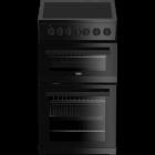 Washing Machine Dishwasher Dryer Sales ChorleyWood Loudwater Appliance Repairs Rickmansworth Watford Northwood Harrow Croxley Green Sarratt Harefield - Beko EDVC503B 50Cm Double Electric Fan Cooker