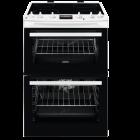 Washing Machine Dishwasher Dryer Sales ChorleyWood Loudwater Appliance Repairs Rickmansworth Watford Northwood Harrow Croxley Green Sarratt Harefield - Zanussi ZCV66078WA 60Cm Double Oven Electric Cooker